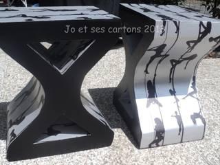 Chevets en carton:  de style  par Jo et ses Cartons