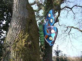 butterfly projects: rustic  by Forest Crafts Ltd, Rustic