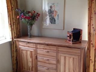 Elm & Walnut Sideboard Worsley Woodworking SalonesAlmacenamiento