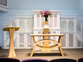 Church furniture Worsley Woodworking Paisajismo de interiores