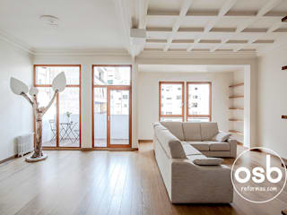 Classic style living room by osb arquitectos Classic