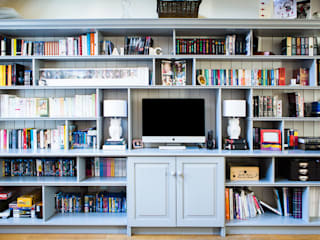 Multimedia room by Worsley Woodworking,