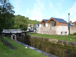 Bridge Lock Mews Modern houses by Hetreed Ross Architects Modern