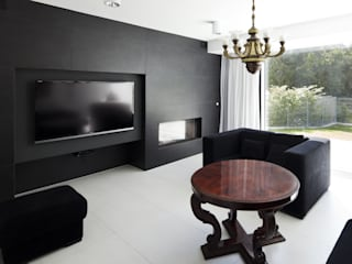 KLUJ ARCHITEKCI Modern living room