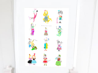 Be your own kind of Princess - 50 x 70 cm - Poster:   by Sas and Yosh