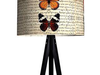 iF Dizayn Tasarım Ürünleri – iF Dizayn Vintage Kelebekler 3 Ayak Lambader:  tarz