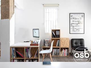 Modern study/office by osb arquitectos Modern