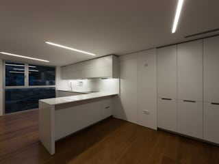 Casa BA Cocinas de estilo moderno de GOELIN ARQUITECTOS Moderno