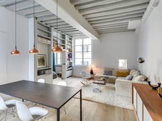 Appartement Paris Salon industriel par Meero Industriel