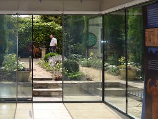 Herschel Museum Modern style doors by Hetreed Ross Architects Modern