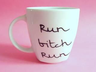 HAPPY PINK od My Mug Company Skandynawski