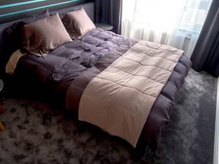 Dormitorios de estilo  de Jacek Tryc-wnętrza