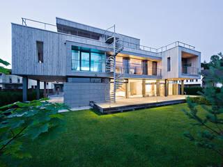 Фото обложки - Pixel House: Дома в . Автор – LEVEL80 | architects, Модерн