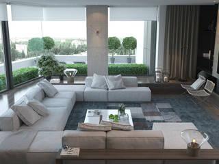 Mediterranean style living room by AShel Mediterranean