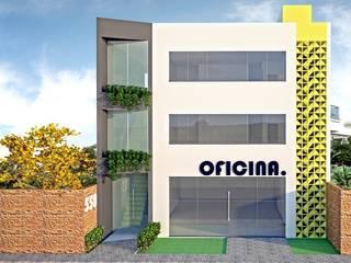 Oficina. Espaços comerciais modernos por Impelizieri Arquitetura Moderno