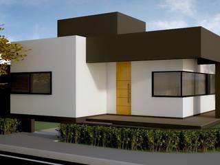 RESIDENCIA LP Casas modernas por Impelizieri Arquitetura Moderno