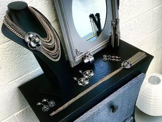 Diabolo spirales - noir/argent L'armoire en carton Locaux commerciaux & Magasins