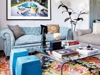 Casa JC: Salones de estilo  de The Interiorlist