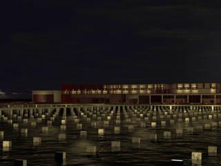 PROYECTOS: Salones de eventos de estilo  de AFA - Antonio Flores Arquitectura