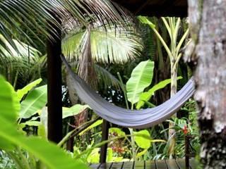 Egzotyczny ogród od Eduardo Luppi Paisagismo Ltda. Egzotyczny