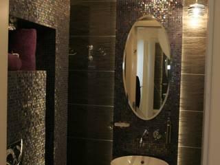 Baños de estilo  por Art&Design Studio Projektowe Kinga Śliwa
