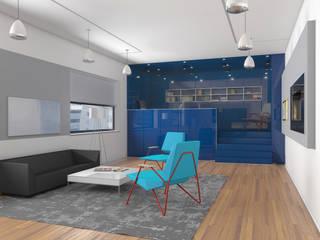 Minimalistische woonkamers van Nox Minimalistisch