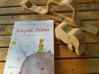 Ahşap Küçük Prens Çalışmalarımız / Our wooden handmade Little Prince works Gökmen Ahşap Oyuncak ve Tasarım Klasik