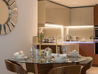 Interior Design : Kewbridge Modern Dining Room by In:Style Direct Modern