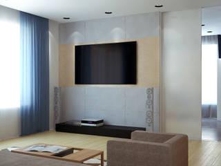 Ruang Keluarga Minimalis Oleh Nox Minimalis