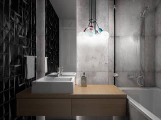 Wiktoria Ginter - interiorismo Modern style bathrooms