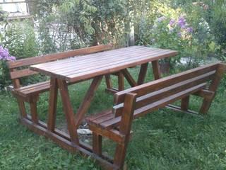 Wood Garden – Bahçe Mobilyaları:  tarz