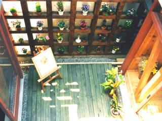Terrazas de estilo  por ユミラ建築設計室