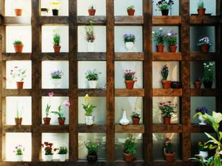 土間でサンマの焼ける家 モダンな 壁&床 の ユミラ建築設計室 モダン
