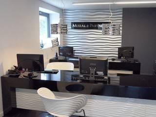 Kancelaria podatkowa - Piekary Śląskie.: styl , w kategorii Biurowce zaprojektowany przez PR Architects Sp z o. o. Pala&Rodek