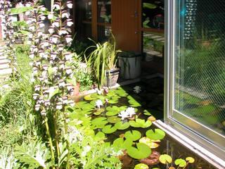 ユミラ建築設計室 Modern garden Wood