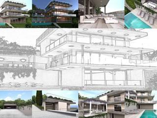 Casas estilo moderno: ideas, arquitectura e imágenes de ARTREADY Moderno