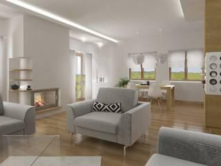 Ruang Keluarga Modern Oleh D2 Studio Modern