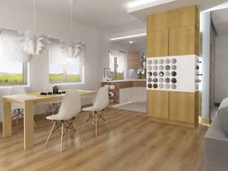 Ruang Makan Modern Oleh D2 Studio Modern