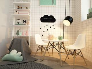 Chambre d'enfant de style de style Scandinave par homify