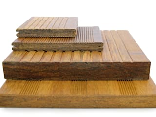 Terrassendielen aus Bambus   * ökologisch  * elegant * widerstandsfähig * formstabil * nachhaltig: modern  von Bambuskontor,Modern