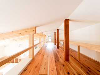 野洲の住宅 モダンデザインの 多目的室 の 奥村幸司建築設計室 モダン