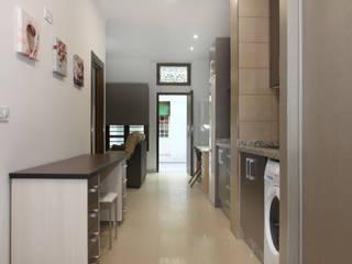 Loft Fuensanta_1 #LoftODB2 Cocinas de estilo moderno de Mohedano Estudio de Arquitectura S.L.P. Moderno
