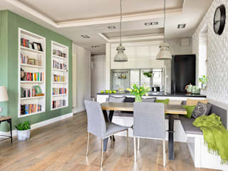 Cocinas de estilo  de ZEN Interiors - Architektura Wnętrz