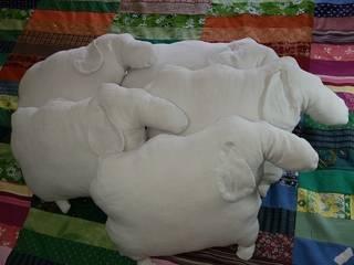 Troupeau de moutons:  de style  par Léo et Léonie