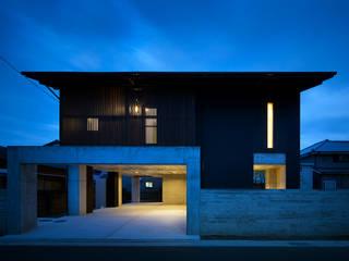 Modern houses by 有限会社 TEAMWORKS Modern