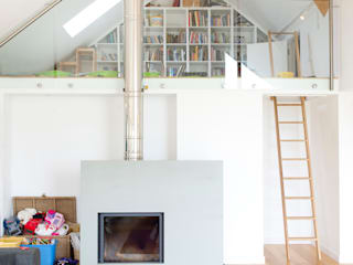 Contemporary Home, Bude, Cornwall Moderne Wohnzimmer von The Bazeley Partnership Modern