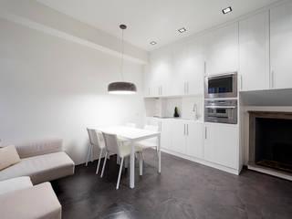 23bassi studio di architettura Minimalist kitchen