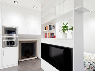 23bassi studio di architettura Minimalist living room