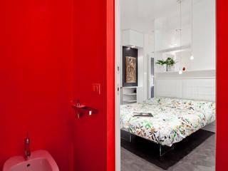 23bassi studio di architettura Minimalist style bathroom