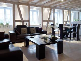 Appartement W.: Salon de style  par Alba